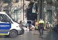 زیرگرفتن دهها نفر با خودرو در بارسلون اسپانیا