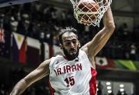تاریخ سازی ستاره بسکتبال ایران