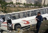 واژگونی اتوبوس ولوو در خراسان رضوی ٢٠ مجروح بر جای گذاشت