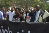 هزاران نفر در مخالفت با تجمع راستگرایان در بوستون تظاهرات کردند
