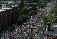 Thousands of Counter-Protesters March Against White Nationalism in Boston a Week After ...