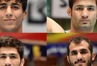 کشتی فرنگی قهرمانی جهان/ ۴ نماینده ایران امروز حریفان خود را میشناسند