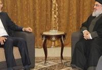 (عکس) دیدار جابریانصاری با دبیر کل حزبالله
