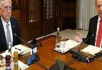 دیدار وزیر دفاع آمریکا و رئیسجمهوری ترکیه