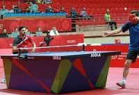 نوشاد و نیما عالمیان از مرحله گروهی تور تنیس روی میزچک صعود کردند