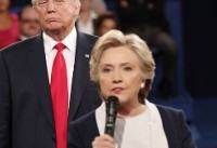 'Back up you creep!': Clinton muses about tense Trump debate moment