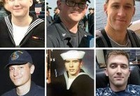 U.S. Navy identifies one dead, nine missing USS McCain sailors