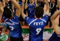 قهرمانی تیم والیبال زیر ۱۹ سال ایران