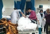 اولین تصاویر از واژگونی اتوبوسی که منجر به مرگ ۱۲ دختر دانشآموز شد
