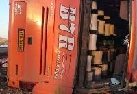 واژگونی مرگبار اتوبوس دختران دانشآموز در داراب