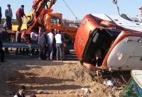 قطع عضو و نخاع ۴ نفر از مصدومان حادثه اتوبوس دانشآموزان