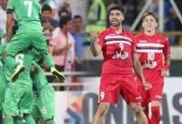 ترکیب تیم فوتبال پرسپولیس در برابر الاهلی عربستان