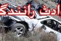 ۵ کشته بر اثر تصادف تانکر سوخت با پژو ۴۰۵ در محور چناران-قوچان
