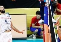 تیم ملی والیبال ایران ست چهارم را به ایتالیا باخت