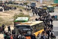 تمهیدات اتوبوسرانی تهران برای اربعین ۹۶
