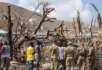100 prisoners escape on hurricane-hit British island