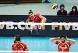 پیروزی تیم والیبال ایران مقابل آمریکا
