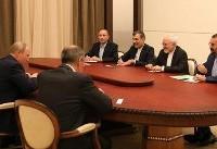 ظریف با پوتین دیدار کرد (+عکس)