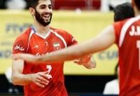 ویدئو / دیدار تیمهای ملی والیبال ایران و آمریکا