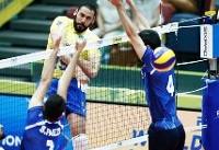 والیبال ایران حریف برزیل نشد