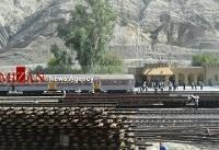 حادثه مرگبار در راه آهن تنگ هفت لرستان