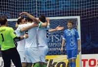 تیم ملی فوتسال ایران ۱۰ - تایلند ۳ / صعود ایران به نیمه نهایی