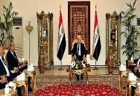دیدار رییس جمهور عراق با هیات شورای همه پرسی کردستان