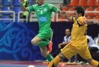 آمار عجیب سنگ سفیدی در تیم ملی فوتسال ایران!
