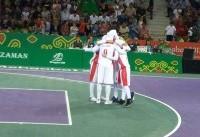 تیم بسکتبال بانوان از صعود به نیمه نهایی باز ماند