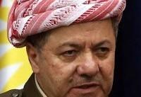 «مسعود بارزانی» رای خود را در صندوق انداخت