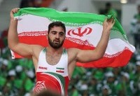 اولین طلای کشتی آزاد ایران در بازیهای ترکمنستان/گلیج بر سکوی نخست ایستاد