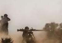 عملیات آتشسنگین توپخانه قرارگاه حمزه سیدالشهداء در منطقه عمومی شمال غرب کشور انجام شد