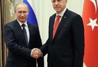 رایزنی تلفنی اردوغان و پوتین درباره همهپرسی کردستان عراق
