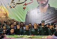 تصاویر ورود پیکر شهید مدافع حرم محسن حججی به کشور