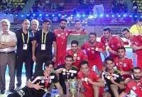 تیم فوتسال دانشجویان ایران قهرمان آسیا شد