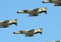 پرواز هواپیماهای شکاری-بمب افکن ارتش در آسمان مرزهای غرب و شمال غرب کشور
