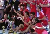 تیم فوتسال دانشجویان ایران با غلبه بر عمان قهرمان آسیا شد