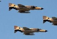 عملیات شناسایی و مانور جنگندههای ارتش در مرزهای غربی و شمال غربی کشور