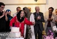 آرزوی ایران درودی در جشن تولد ۸۱ سالگیاش