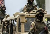 اجرای مقررات منع رفت و آمد در مناطق شمال صحرای سینا