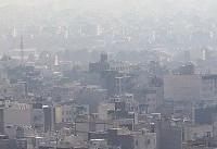 آلودگی هوای مشهد (عکس)