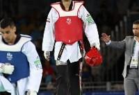 مردانی به مدال برنز گرند اسلم رسید/ خداحافظی بدون مدال