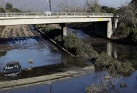 Most of mudslide-stricken California town told to empty out