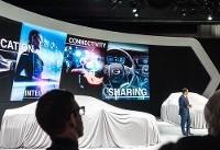 خودروی چینی برقی با نمایشگرهای واقعیت مجازی از راه رسید (+عکس)