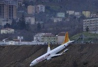 Plane in Turkey Skids Off Runway and Dangles Over Cliff