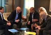 دیدار مسئولان فدراسیون فوتبال ایران با همتایان هلندی و ایتالیایی