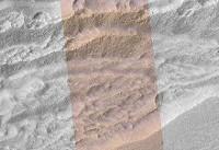 کشف صخرههای یخی بزرگ روی سطح مریخ