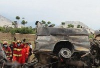 آتش گرفتن اتوبوس در قزاقستان ۵۲ نفر را کشت