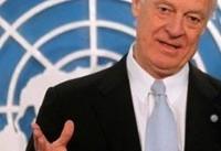 فرستاده ویژه سازمان ملل در امور سوریه از نمایندگان دمشق و اپوزیسیون ...