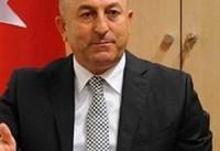 وزیر خارجه ترکیه: در «عفرین» سوریه مدخله نظامی خواهیم کرد